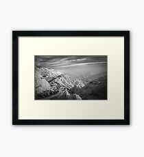 Trail to the Ring Framed Print
