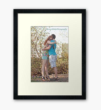 She Said Yes ~ Framed Print