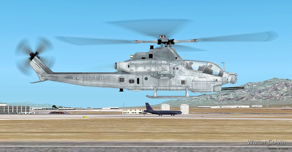 Bell AH-1Z Viper by Walter Colvin