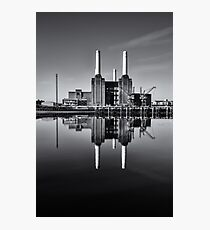 Battersea Power Station (England) Mono Photographic Print