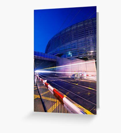 Fast lights Greeting Card
