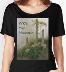 WK's Man Mountain Women's Relaxed Fit T-Shirt