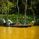 Mekong River Fishing by mlphoto