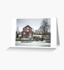 Old Mill 2 Greeting Card