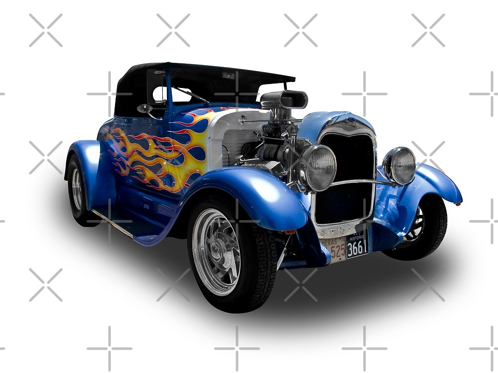 Ford - 1928 Model A Coupe by axemangraphics
