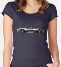 CORVETTE STINGRAY. Women's Fitted Scoop T-Shirt
