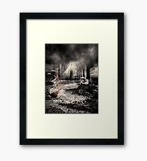 The Perpetual Beacon Of Hope Framed Print