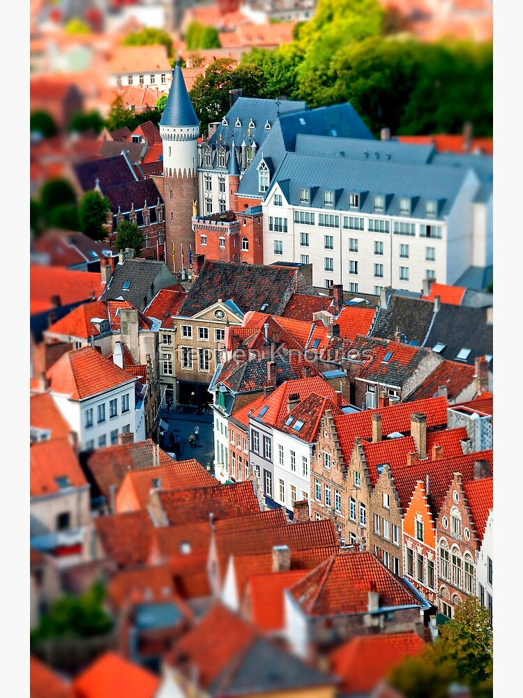 Bruges (tilt and shift) by stephenknowles