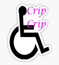 Cripple Swag Sticker