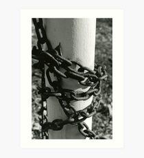 Erosion [4/5] (35mm Film) - Philadelphia, PA Art Print