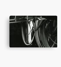 Metallic Reflections [1/8] (35mm Film) Canvas Print