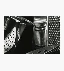 Metallic Reflections [7/8] (35mm Film) Photographic Print