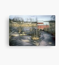 Old Mill 4 Canvas Print