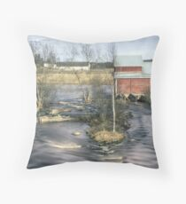 Old Mill 4 Throw Pillow