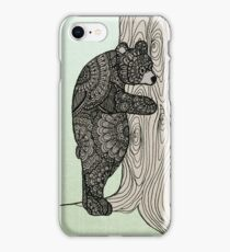 Bear Hug - Tree Hugger iPhone Case/Skin