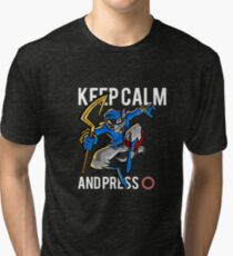 Sly Cooper - keep calm Tri-blend T-Shirt