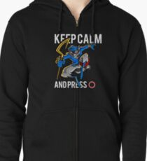 Sly Cooper - keep calm Zipped Hoodie