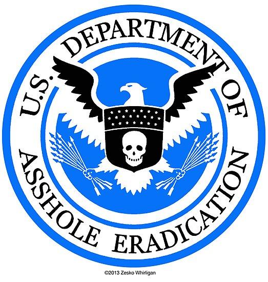 United States Department of Asshole Eradication by Zesko