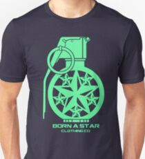 Born A Star Grenade T-Shirt