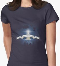 There's Always a Lighthouse Women's Fitted T-Shirt