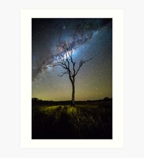 Flanagan Reserve Milky Way Art Print