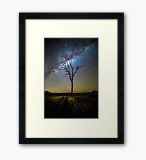 Flanagan Reserve Milky Way Framed Print