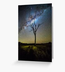 Flanagan Reserve Milky Way Greeting Card