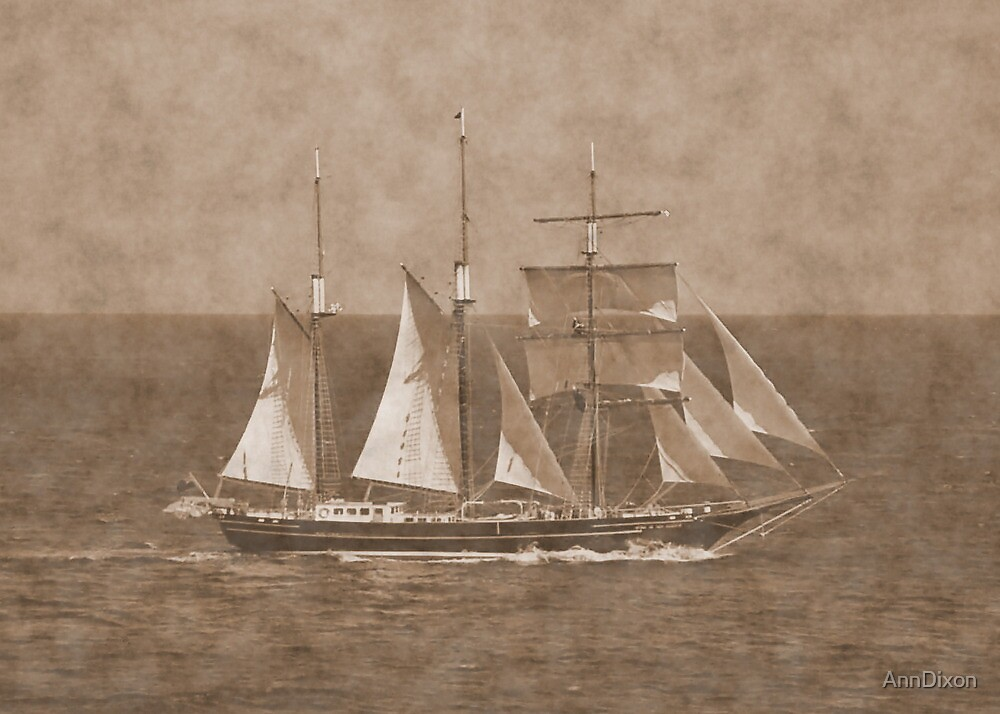 Ye Olde Clipper Ship by AnnDixon