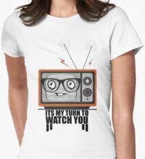 Watching You Women's Fitted T-Shirt