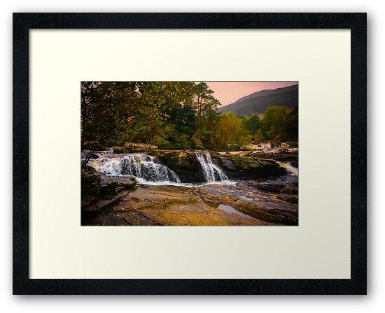Falls of Dochart Scotland 2 by mlphoto