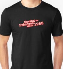 Saving The Princess Since 1985 T-Shirt