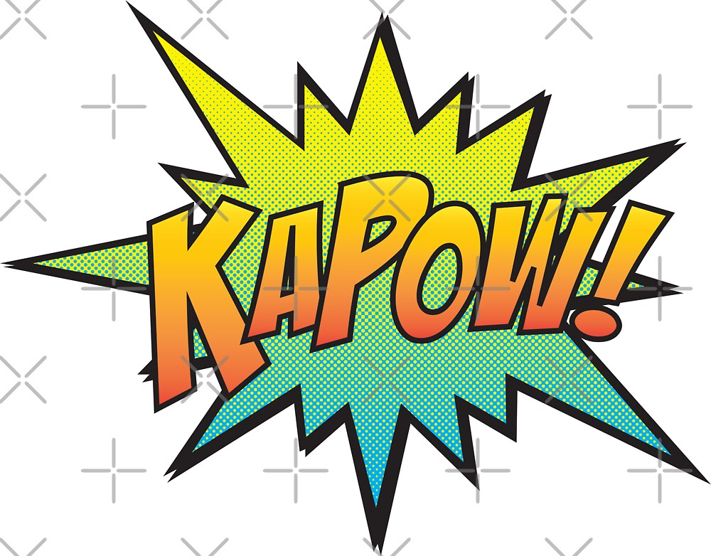 KAPOW! by axemangraphics