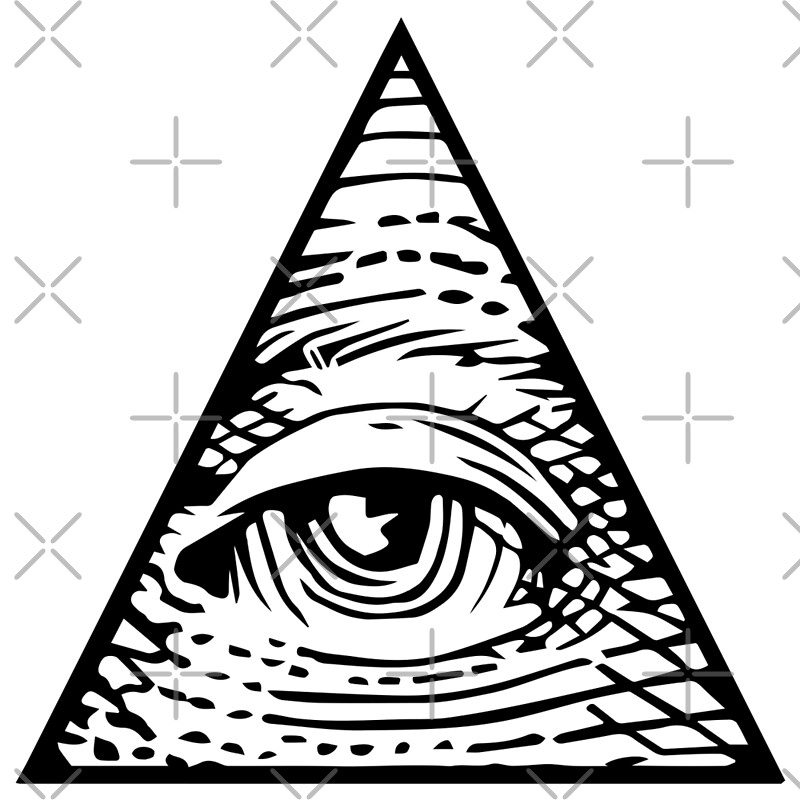 quotilluminati eye of providencequot art prints by boxsmash