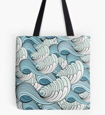 sea ​​waves Tote Bag