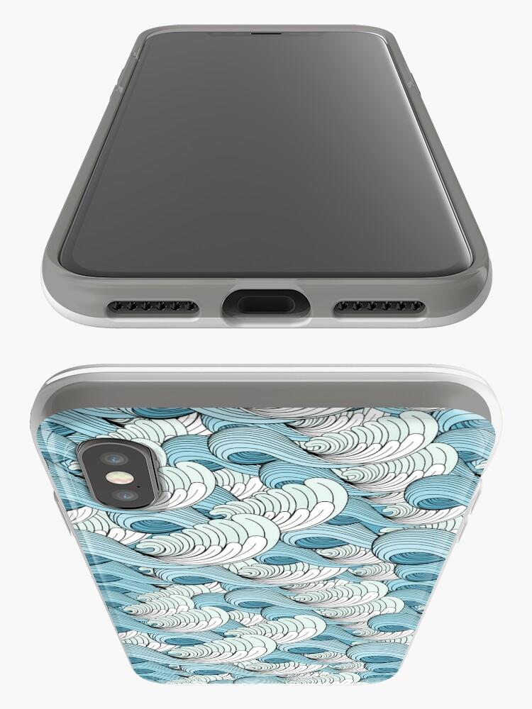 Alternative Ansicht von sea waves iPhone-Hülle & Cover