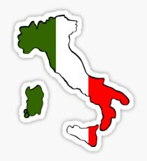 Map of Italy Sticker