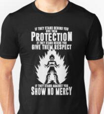 Camiseta unisex Sin piedad vegeta