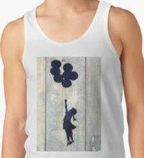Floating Balloons by Banksy Tank Top