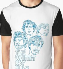 The Whitest Boy Alive Band T-Shirt Graphic T-Shirt