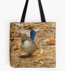 blue wren Tote Bag
