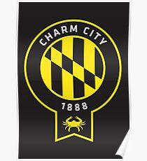 Charm City  // America League // PCGD Poster