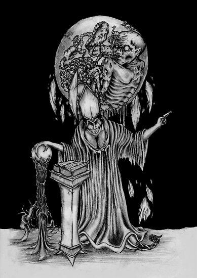 The Dark Wizard by OnePortraitArt