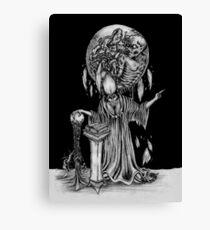 The Dark Wizard Canvas Print