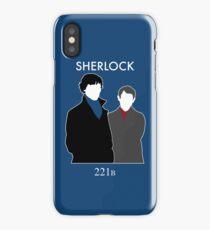 Sherlock and Watson iPhone Case