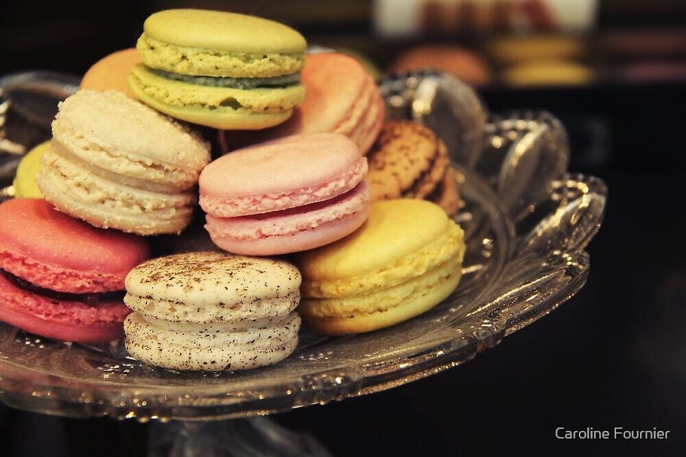 Macarons by Caroline Fournier