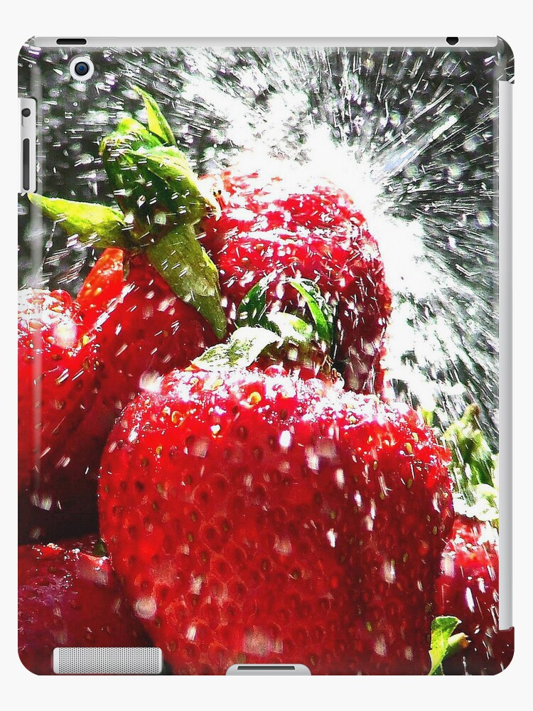 Strawberry i Pad Case  by Colin  Williams Photography