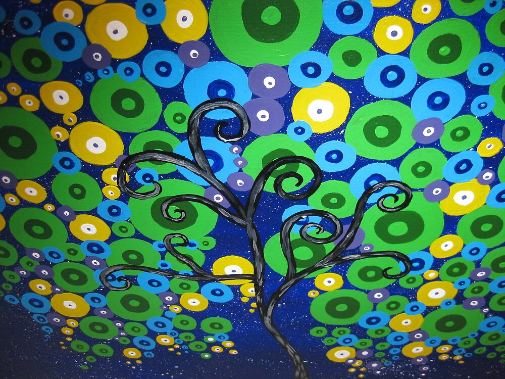 peacock tree by cathyjacobs