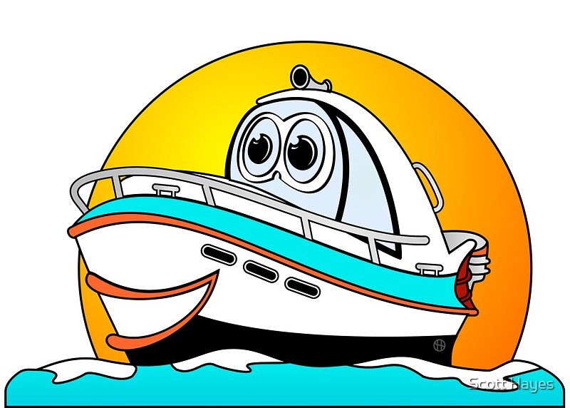 Cartoon Outboard Motors : Motor boat cartoon pixshark images galleries