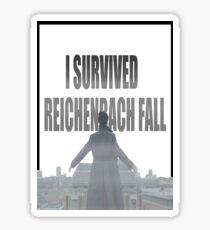 Reichenbach Fall Sticker