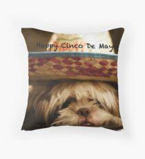 Happy Cinco De Mayo Throw Pillow